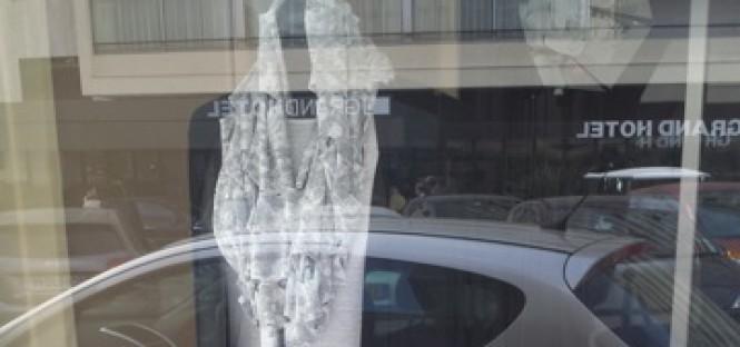 cannes showoroom window promo